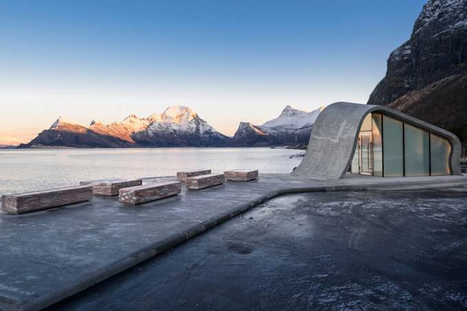Norway launches the most beautiful public toilet in the world