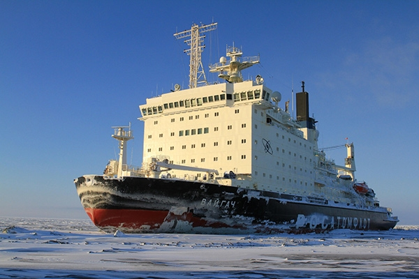 Nuclear Installation on an icebreaker