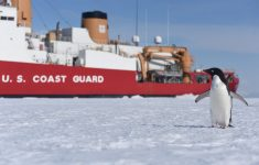 VIDEO: POLAR STAR BREAKING THE ICE OF ANTARCTICA