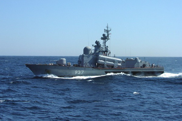 "Pacific Fleet Launches in the Sea of Japan Fired Cruise Missiles ""Mosquito"""