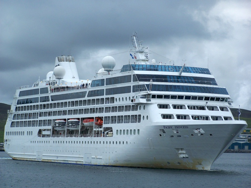 Cruise Ship Pacific Princess Breached After Collision With - Cruise ship pacific
