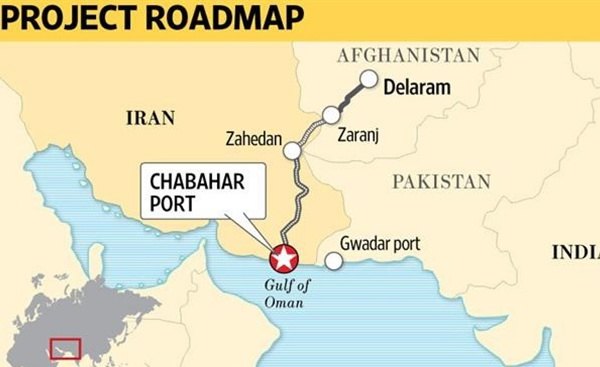 Pakistan Iran access to Indian Ocean