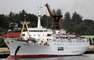 Passenger ship Harshavardhana