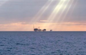 Perenco oilfield offshore