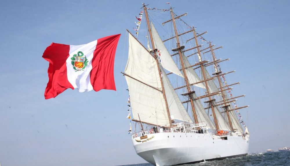 Peru has the second largest sailboat in the world