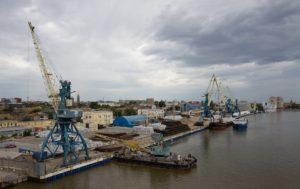 Port of Astrakhan