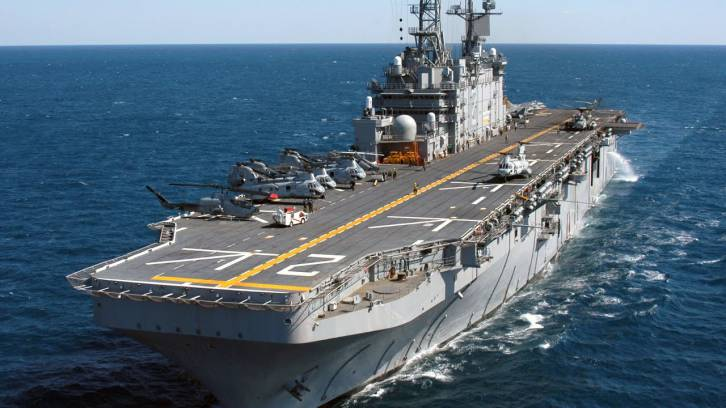 RUSSIA WILL EXPAND ITS AIRCRAFT CARRIER FLEET WITH TWO HUGE NEW CLASSES OF ASSAULT SHIPS; A VERTICAL TAKEOFF PLANE COULD FOLLOW