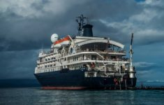 Grounding of cruise ship Caledonian Sky in Indonesia damaged 18,900 sq m of the coral reef
