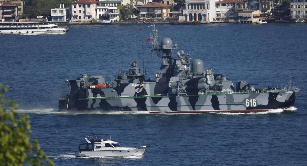 Reactive EU Navy Flotilla for Russia