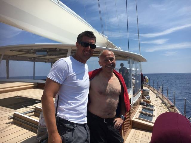 Rescued After Falling to the Sea and Spending 6 Hours Adrift After Leaving Ibiza