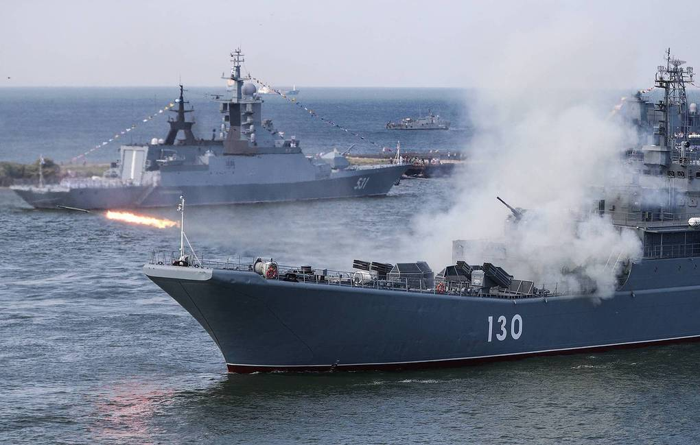 Russia Starts Large Naval Exercises In The Baltic Sea