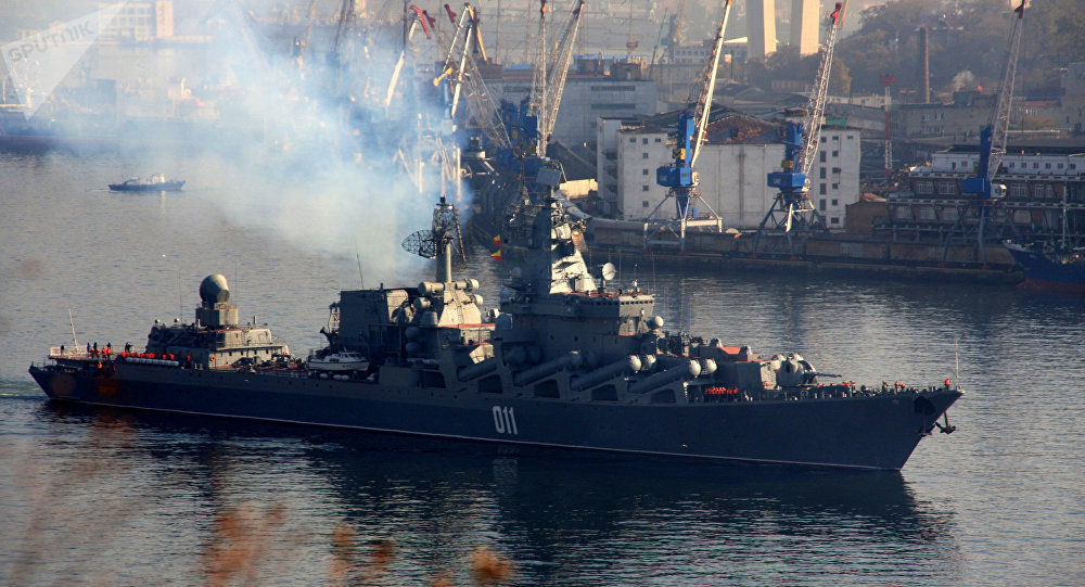 Russian Fleet Arrives At Chinese Port To Participate In Naval Interaction 2019