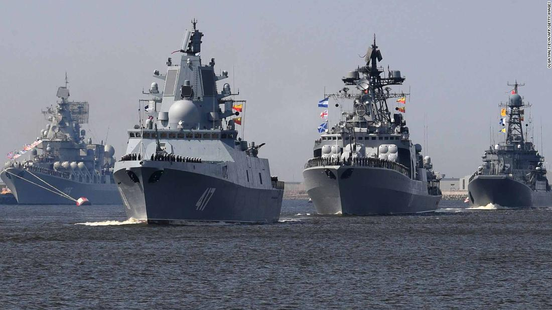 Russian Warships Arrive In China For Joint Naval Exercises