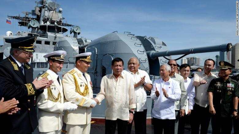 Russian Warships Arrive in the Philippines Amid Rising Tensions in the South China Sea