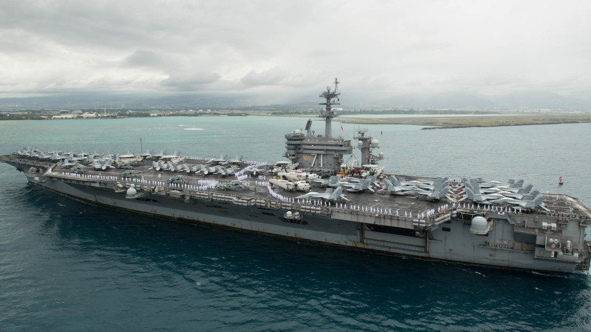 Sailors Aboard USS Theodore Roosevelt Test Positive For Coronavirus
