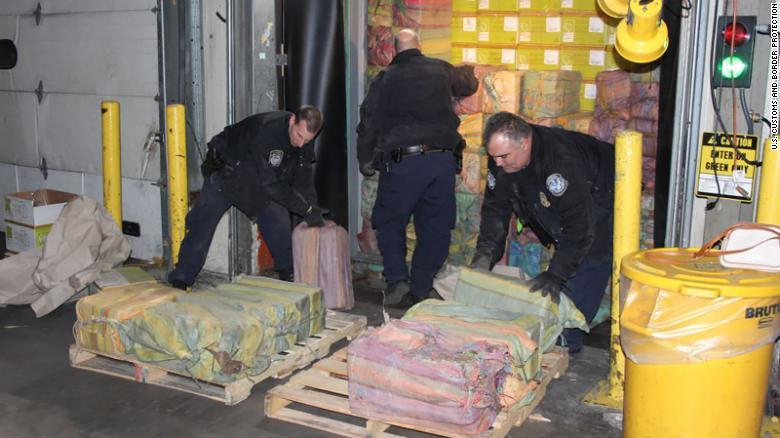 Seize Ton and a Half of Cocaine from Colombia in the United States