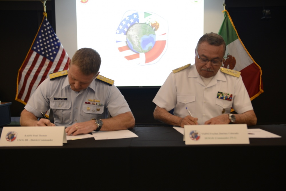 Semar Signing Agreement with United States Coast Guard