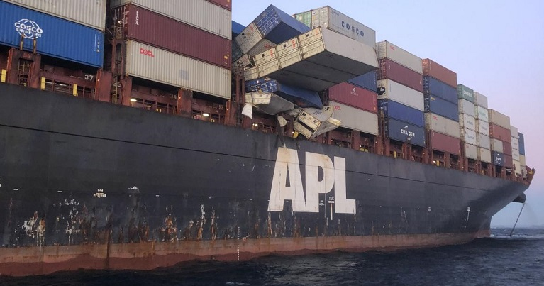 Ships Lose More Than 500 Containers A Year At Sea Due To Accidents