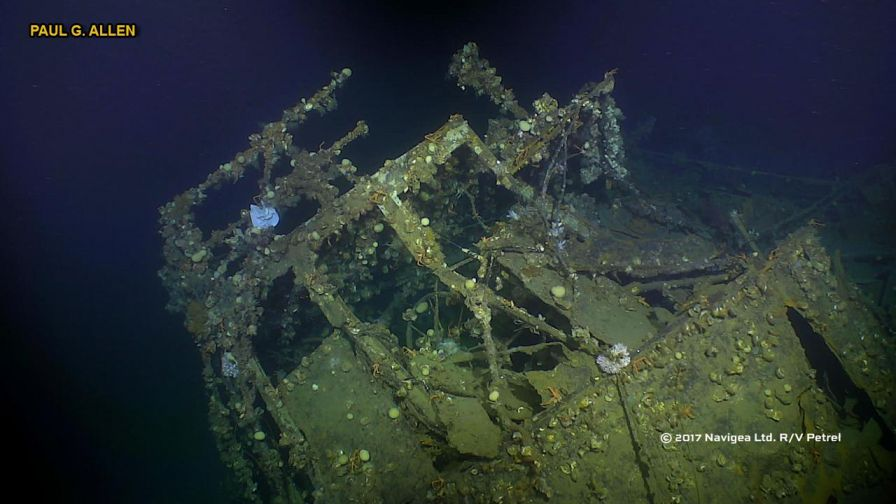 Shipwreck found in Philippines