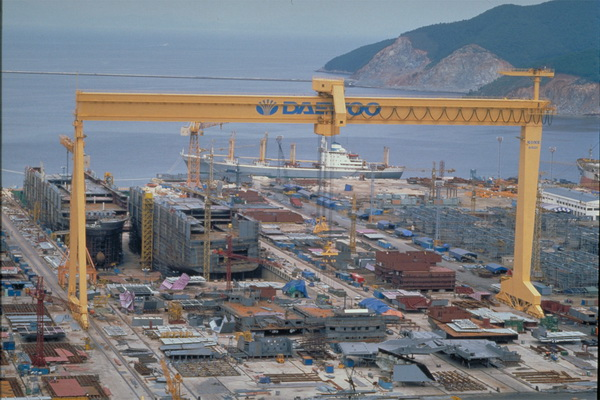 South Korean shipbuilders