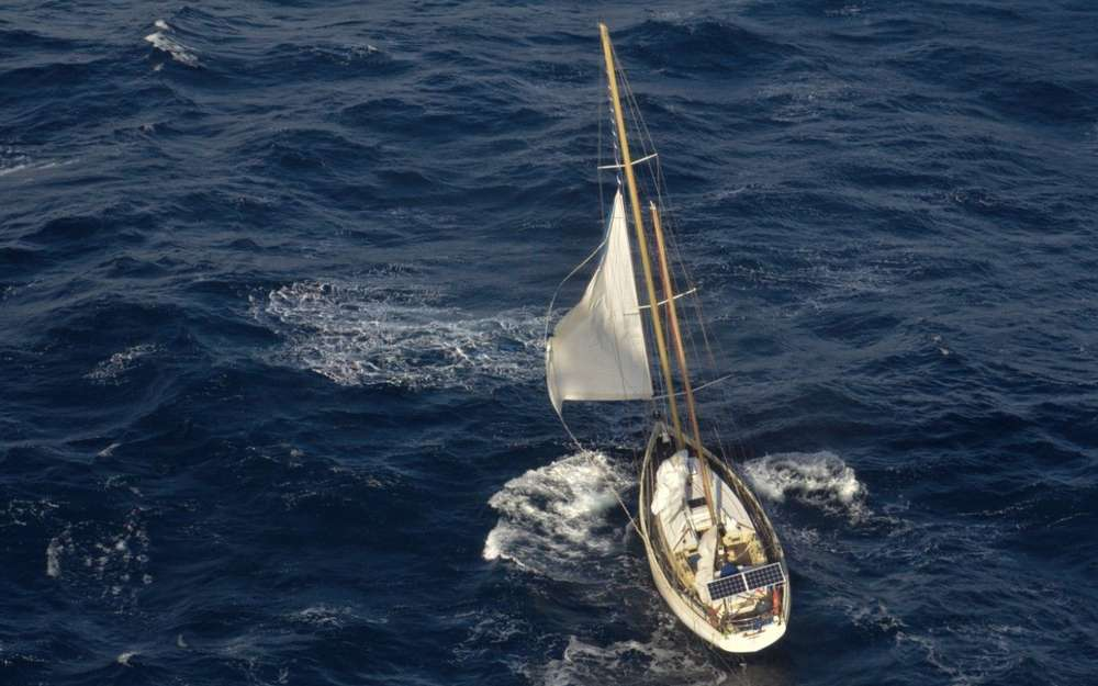 Stolvezen a 13m long sailboat