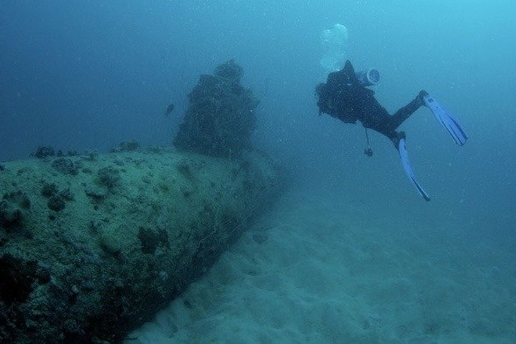 Submarine Used During World War II Found in Japan