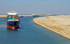 Traffic through the Suez Canal continues to grow.