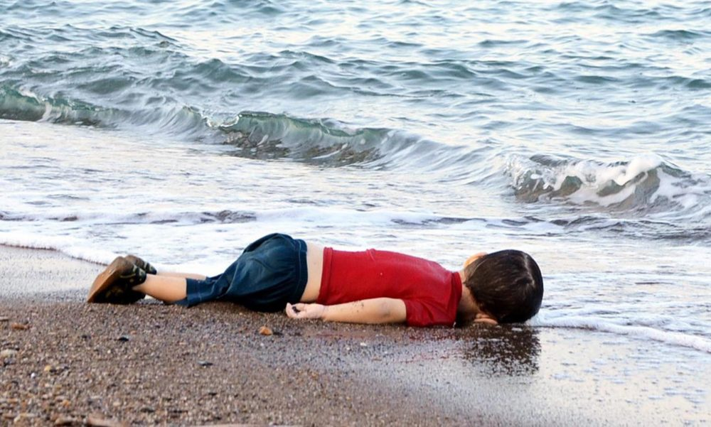 Syrian civil war There he met the dead body of Alan Kurdi