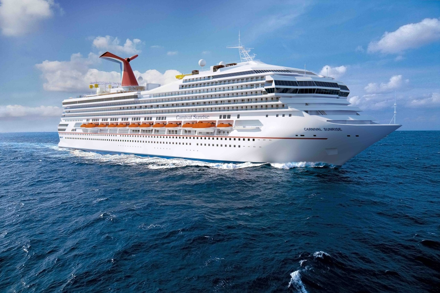 THE CARNIVAL SUNRISE CRUISE WILL BE TRANSFORMED IN SPAIN