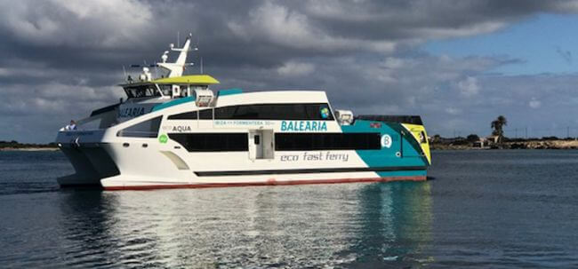 THE ECO FAST FERRY ECO LUX JOINS THE EIVISSA-FORMENTERA ROUTE