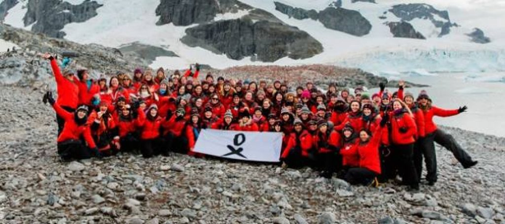 The 80 Scientists Surpass Risky Expedition and Arrive in Antarctica