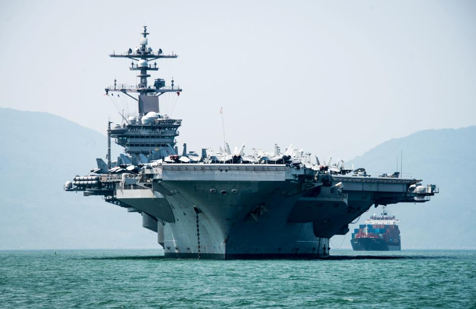 The American aircraft carrier Nimitz USS Carl Vinson