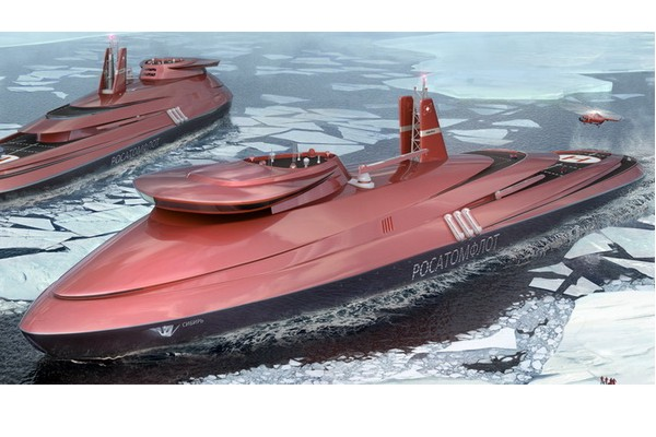 """The First Icebreaker """"Leader"""" is Likely to Build a Shipyard """"Zvezda"""""""