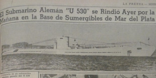 The Mysterious German Submarines on the Argentine Coast