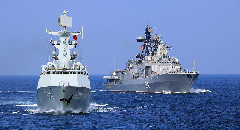 The Russian and Chinese Navies Will Hold Naval Exercises at the End of April