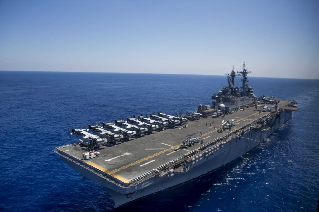 The US Can Deploy F-35 Fighters From More Aircraft Carriers Than You Might Think