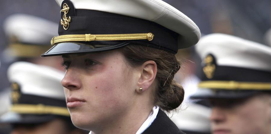 The US Navy allows women to use ponytails