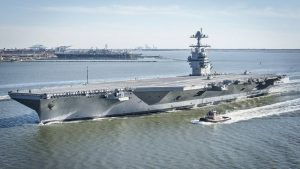 These Are The Difficulties To Modernize The USS Gerald R. Ford