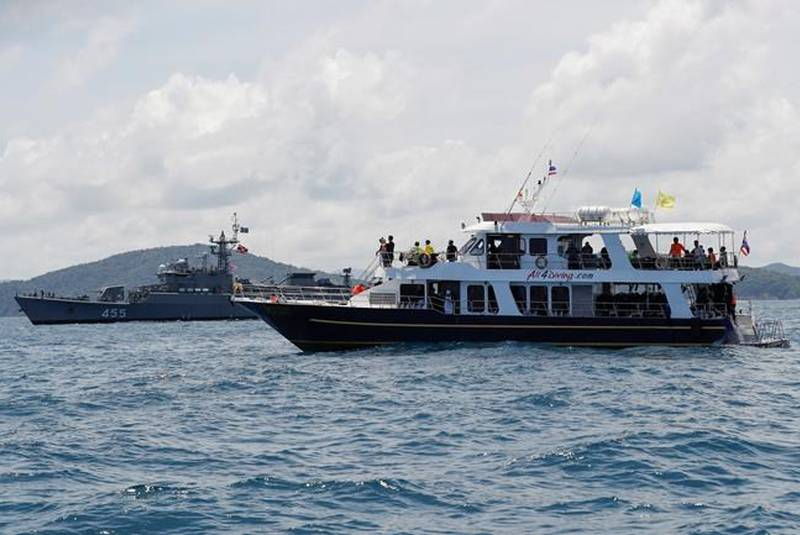 They Bring Charges Against Captains of Sunken Ships in Thailand