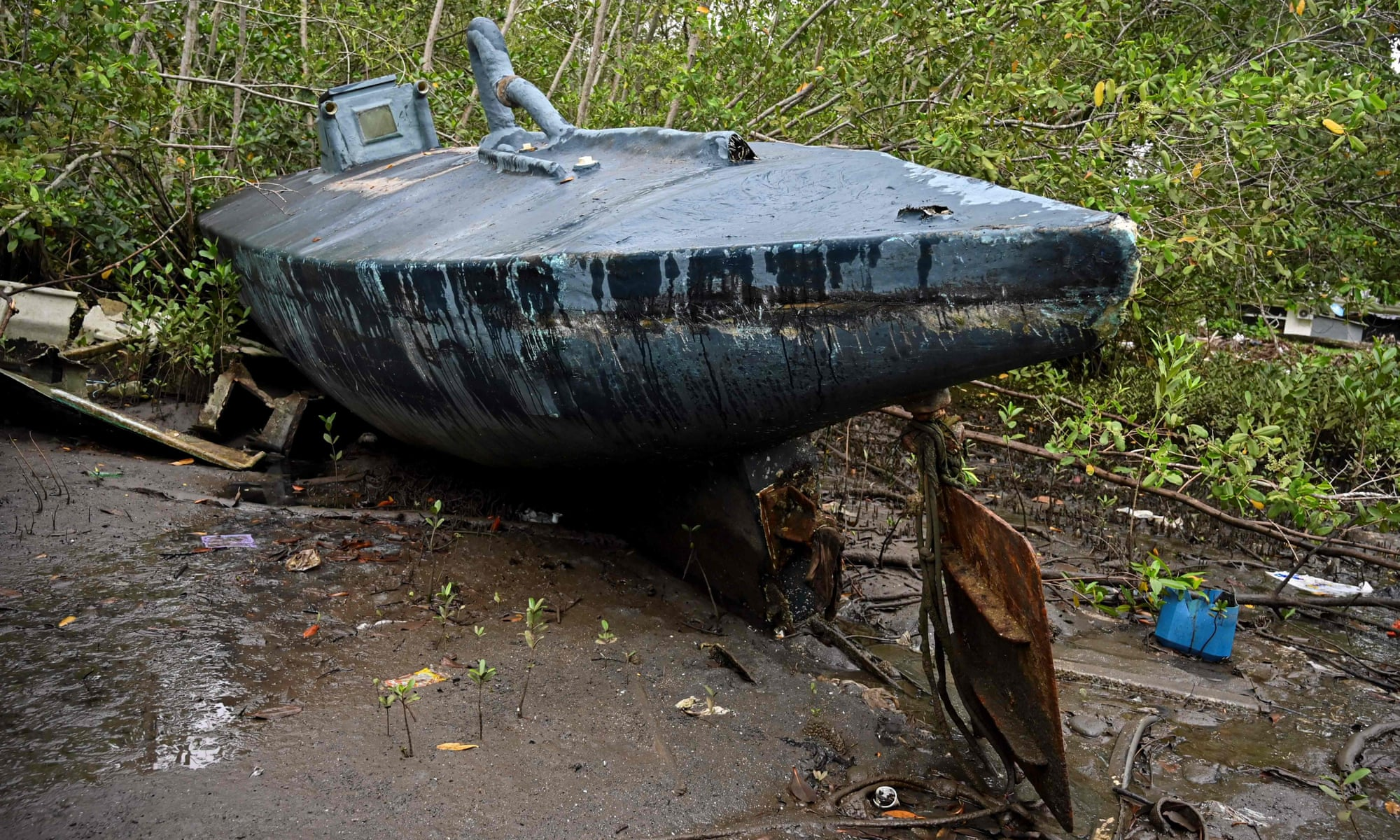 They Discover Narco Submarines In Colombia
