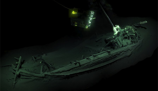 They Discover the Oldest Sunken Ship in History