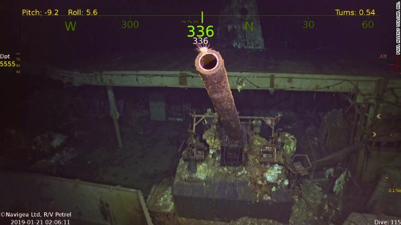 They Find the Remains of a US Aircraft Carrier That Sank in World War II