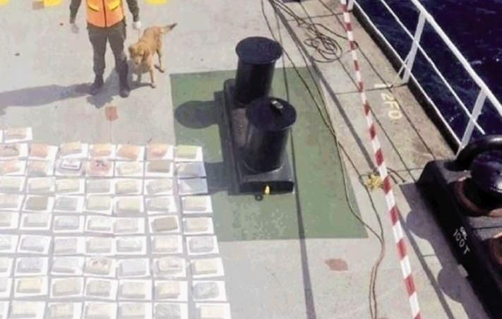 They Were Carrying 147 Kilos of Cocaine on a Ship to Belgium