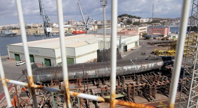 This Submarine May Become a Local Museum in Cartagena Spain