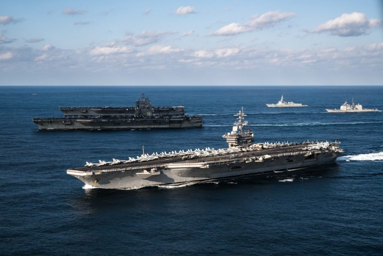 Three Supercarriers