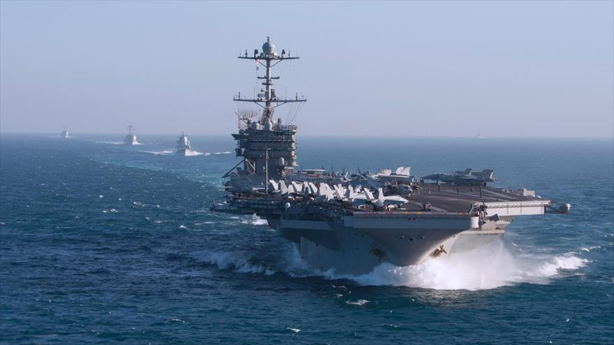 US Aircraft Carrier That Attacked Syria Returns to the Mediterranean