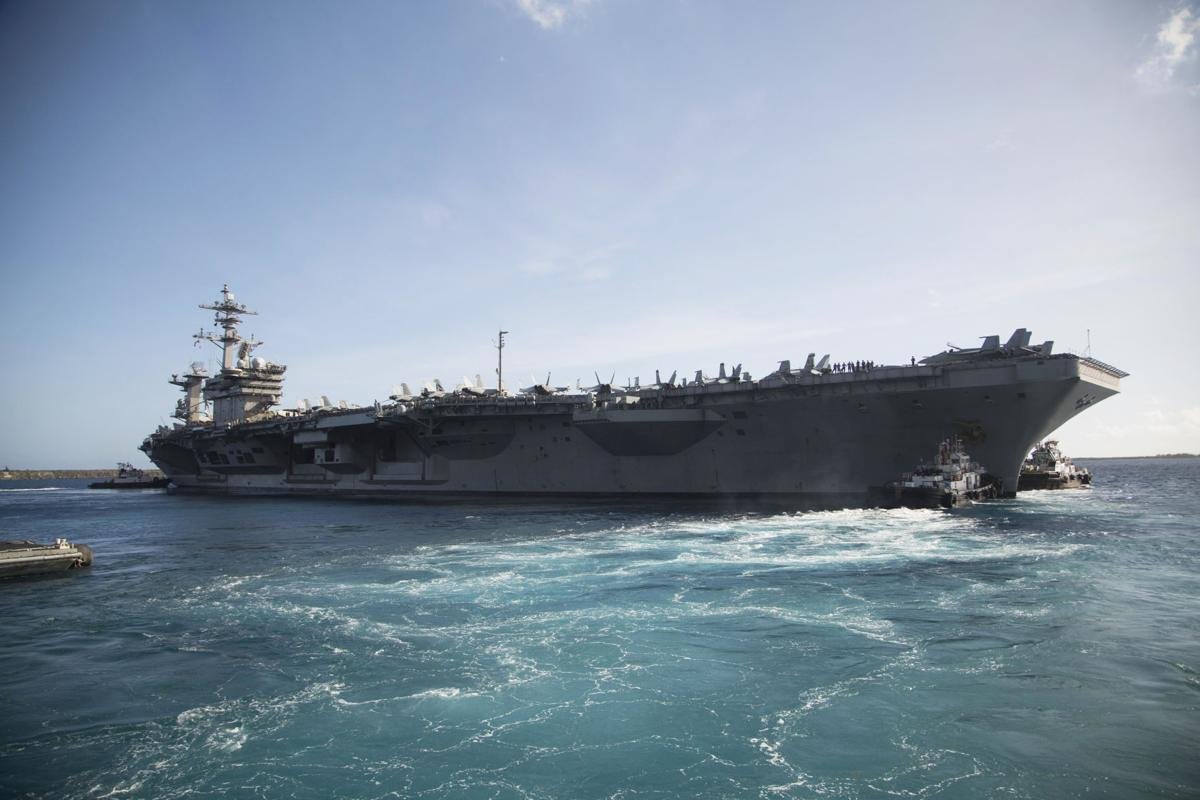 US Aircraft Carriers Return To Sea After COVID-19 Outbreak On Board