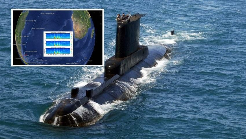 US Navy revealed in November the position of the implosion of the ARA San Juan
