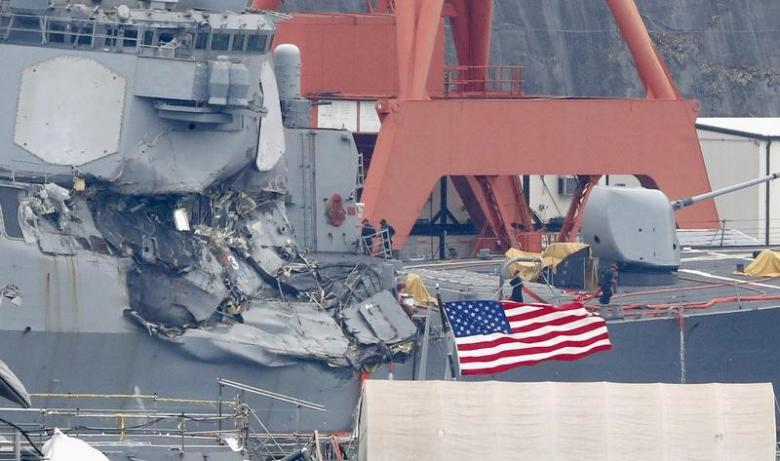 The 7 Sailors Who Died on USS Fitzgerald, Honored By The Navy