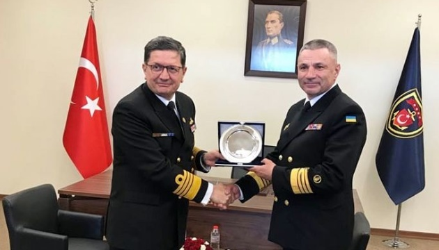 Ukraine And Turkey Commanders Discuss Cooperation In The Naval Defence